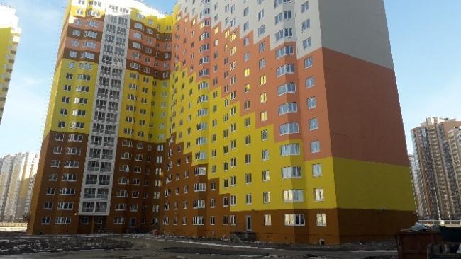 В Петербурге в сентябре введено 180 тысяч кв метров жилья