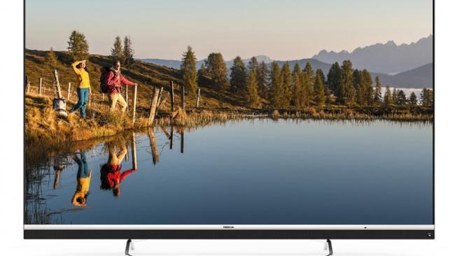 Nokia представила 4K-телевизор с диагональю 65 дюймов.