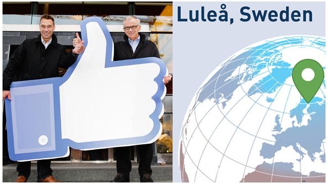 Facebook перебирается в Лапландию в целях экономии