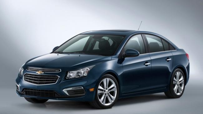 Chevrolet презентовал обновленный Cruze