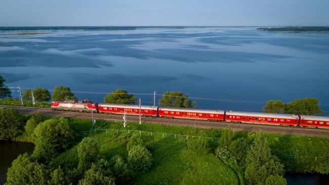 """Поезд """"Янтарь"""" между Москвой и Калининградом будет вновь курсировать ежедневно"""
