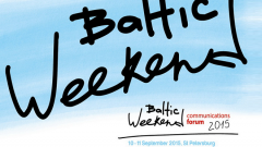 Форум по коммуникациям Baltic Weekend 2015 откроется в Петербурге 10 сентября