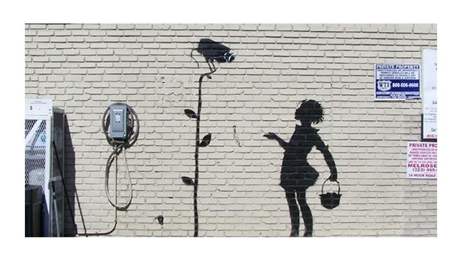 Кусок стены с граффити Бэнкси продан с торгов за $204 тыс