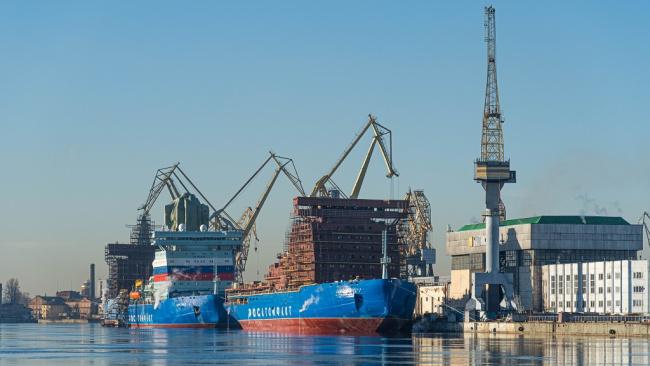 Балтийский завод в мае начнет строительство атомного ледокола «Якутия»