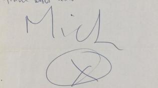 Любовные письма Мика Джаггера были выставлены на аукцион...
