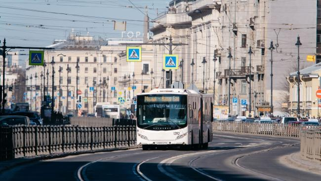 Автопарк Петербурга в 2020 г. возрастет более чем на 200 автобусов