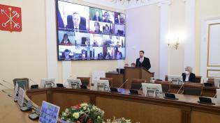 Дефицит бюджета Петербурга на конец 2020 г. составил 39,6 млрд рублей