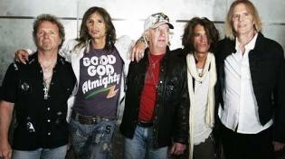 Aerosmith записались с Джонни Деппом