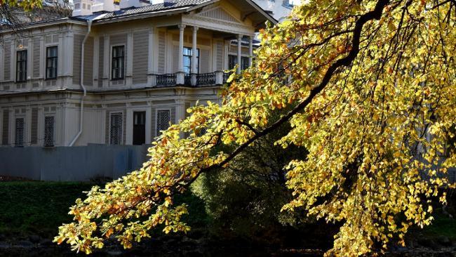 В Петербурге завершена реставрация дачи Громова в Лопухинском саду