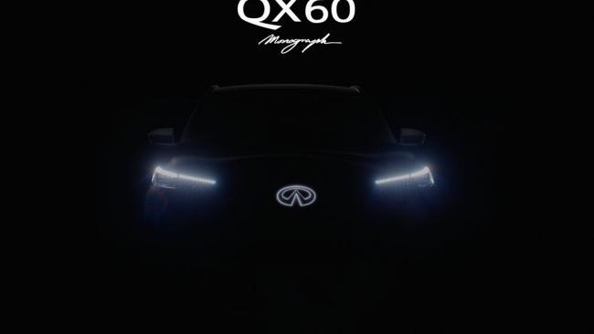 Infiniti анонсировал новый кроссовер QX60 Monograph