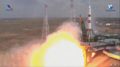 На Байконуре успешно проведен запуск «Союза», который уже сегодня причалит к МКС