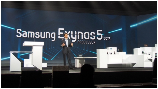 Samsung представил восьмиядерный процессор Exynos 5 Octa