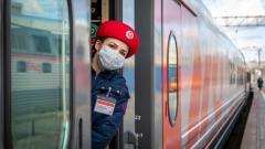 Октябрьская железная дорога в 2020 г. на 30% сократила перевозку пассажиров