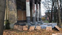В Петербурге начаты работы по сохранению усадебного дома Орловых-Денисовых в Коломягах