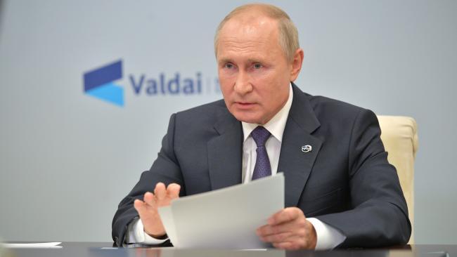 Опубликована стенограмма видеоконференции Валдайского клуба с участием Путина
