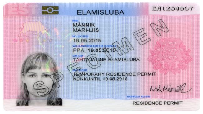 МВД Эстонии проверяет все виды на жительство, выданные с начала года