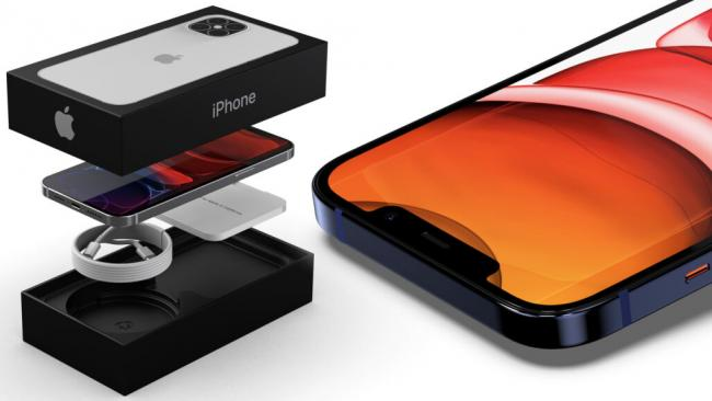 В сети появилась фотография коробки для iPhone 12