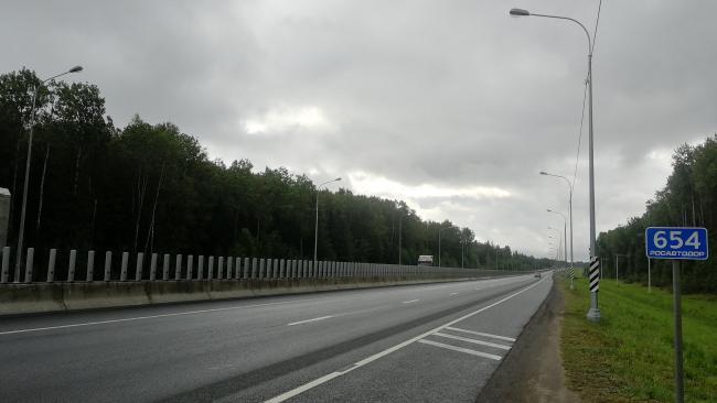"""ФКУ Упрдор """"Северо-Запад"""" в 2020 г. ввело новое освещение на 150 км дорог"""