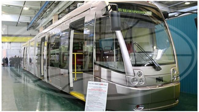 Петербург протестирует белорусско-швейцарский трамвай