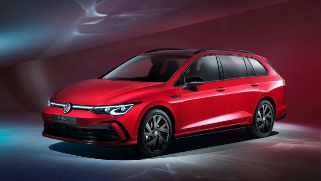 Volkswagen представил обновленные версии универсала Golf
