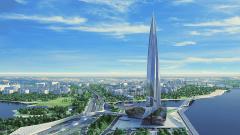 "Два съезда к деловому кварталу ""Лахта-центр"" оценили в 4,2 миллиарда рублей"