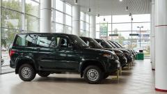 УАЗ анонсировал внедорожники с технологией Connected Car