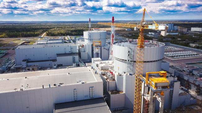 На новом энергоблоке ЛАЭС завершена ревизия основного оборудования