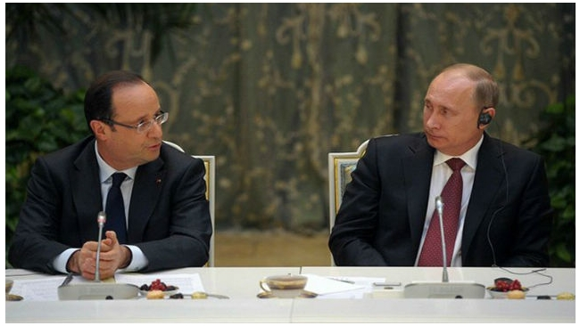 "Франсуа Олланд: Франция должна России 1 млрд евро неустойки по ""Мистралям"""