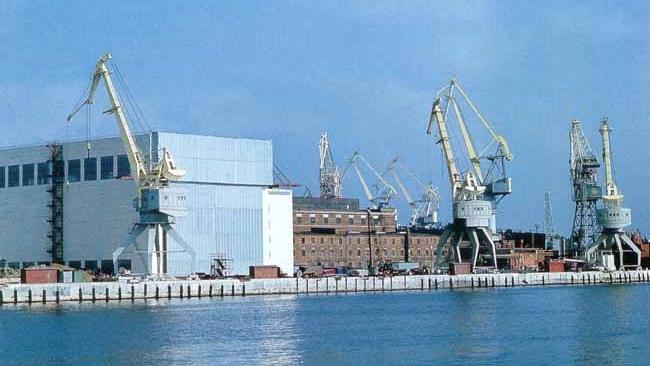 На Балтийском заводе заложили самый мощный ледокол в мире