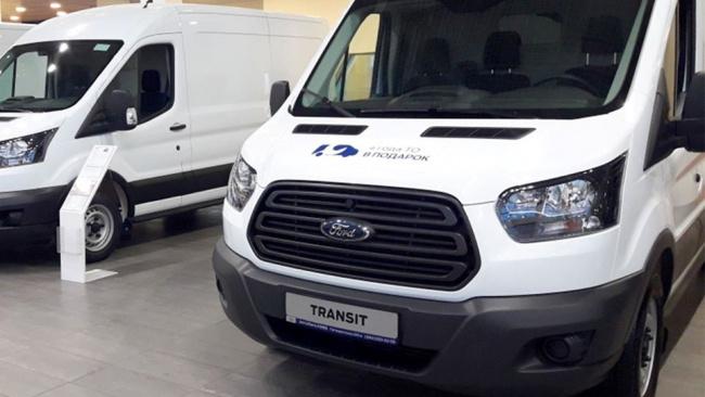 Ford в 2022 г. представит электромобиль семейства грузовых фургонов Transit