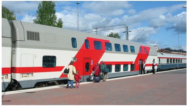 РЖД с февраля пустит ночной двухэтажный поезд между Петербургом и Москвой