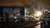 На улице Салова в Петербурге сгорел крупный продовольств...