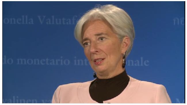 Глава МВФ Кристин Лагард считает, что еврозона избежит рецессии