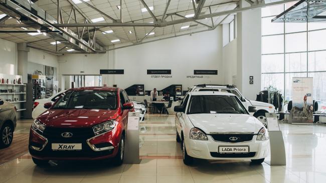 Автоваз увеличил продажи марки Lada на 2,2%