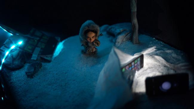 Учащиеся в КиТе студентки снимают мультфильм о девочке, прошедшей через тайгу