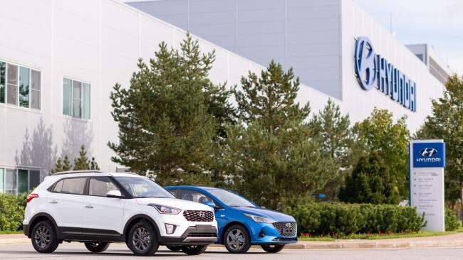 Завод Hyundai Motor в Петербурге в 3-м квартале увеличил производство на 7%