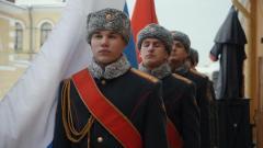 В Петропавловской крепости прошел плац-концерт, посвященный 60-летию роты почетного караула ЗВО