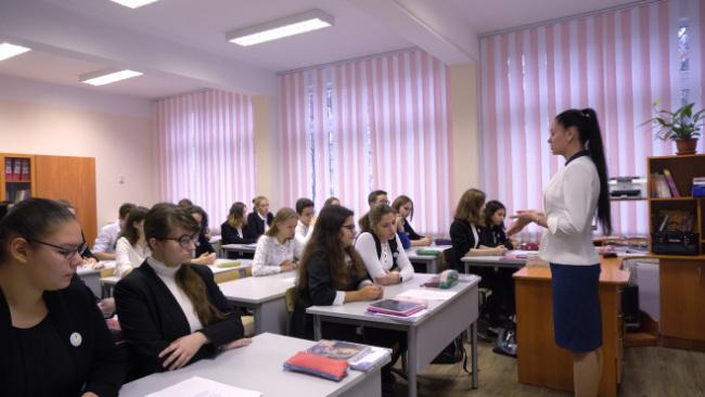 В петербургской школе преподает лучший учитель истории в России