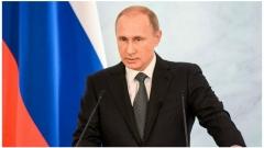 Путин поздравит россиян на фоне Большого Кремлевского дворца