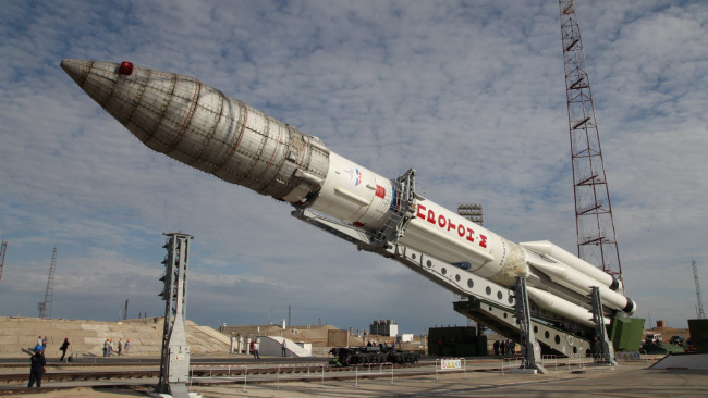 Спутник, взлетевший с космодрома Байконур вывели на орбиту