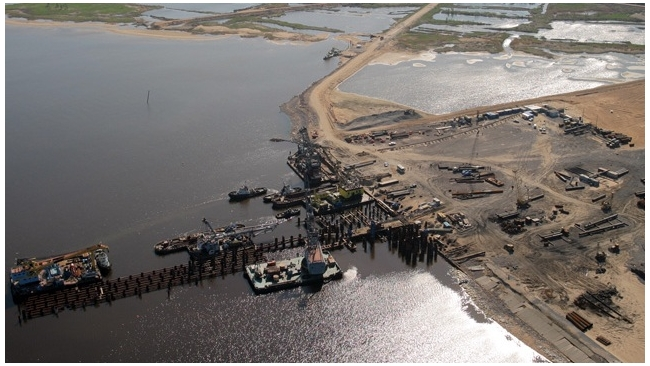 В порт Усть-Луга инвестируют 677,8 млрд рублей