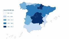 В Испании за сутки выявлено 5 тыс 756 новых больных коронавирусом. Это меньше, чем днем ранее (6 тыс 180)