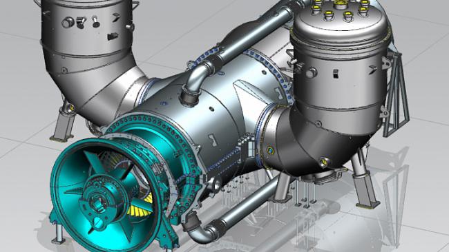 «Силовые машины» создали термодинамическую модель турбины ГТЭ-170
