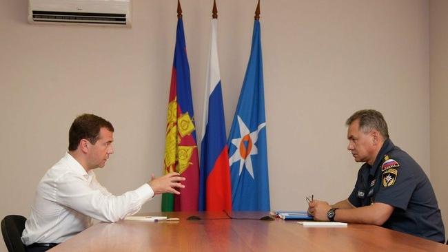 Дмитрий Медведев предложил Сергея Шойгу как кандидата в губернаторы Подмосковья