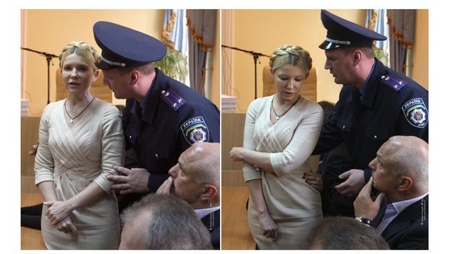 Тимошенко будет сидеть в тюрьме 7 лет