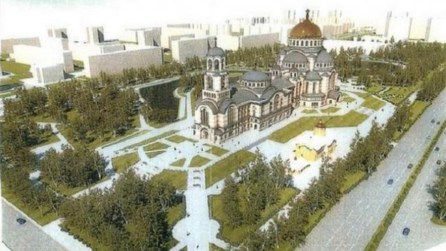 Постановление о строительстве храма в парке Малиновка отменено правительсвом Петербурга