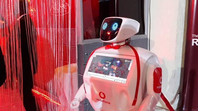 Российский робот добрался до Африки