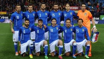 Италия – Швеция: стартовые составы команд