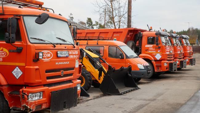 Дорожные службы Ленобласти готовятся к первому снегу нынешней осени