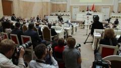 Законодательное Собрание Петербурга увеличит штрафы за установку козырьков